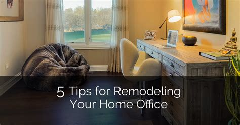 10 tips for designing your home office hgtv 5 tips for remodeling your home office home remodeling