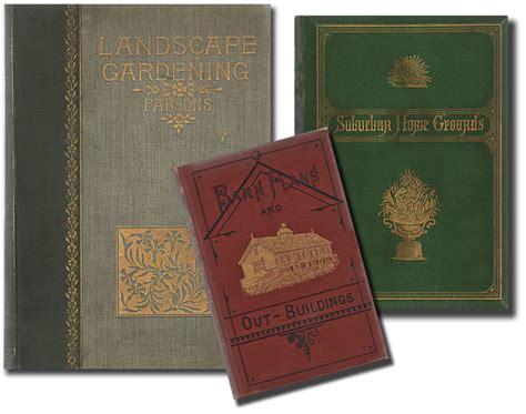 antique gardening books old house new garden