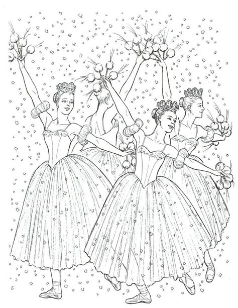 nutcracker coloring book pages nutcracker ballet coloring page coloring home