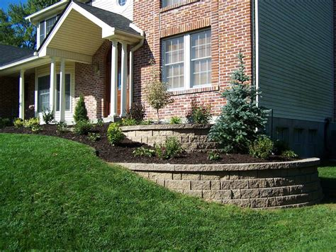 retaining wall st louis retaining walls landscaping