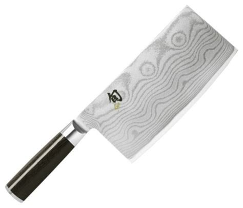 kai kitchen knife shun classic chinese cleaver damascus vg shun classic 7 quot vegetable cleaver traditional cleavers