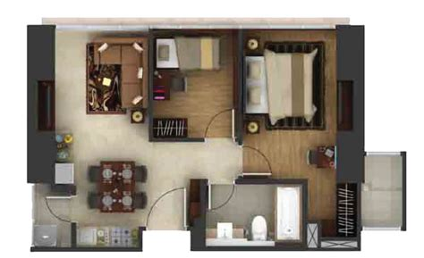 2 Bedroom Apartment Layout Luxury Hotel In Other
