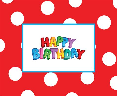 printable cards birthday 41 best cute happy birthday printable cards