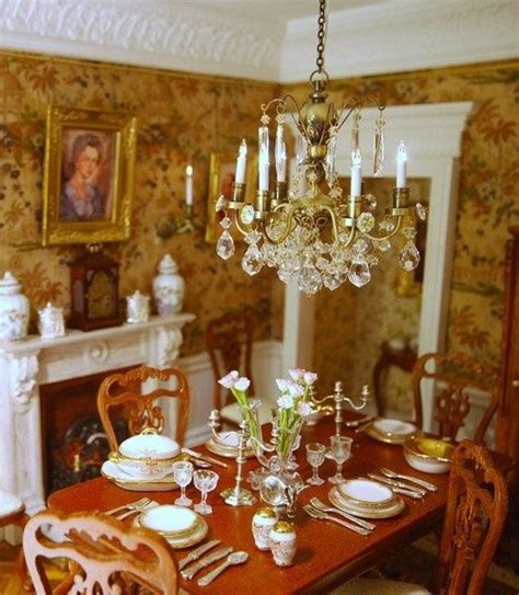 dollhouse miniature victorian home decorating miniature