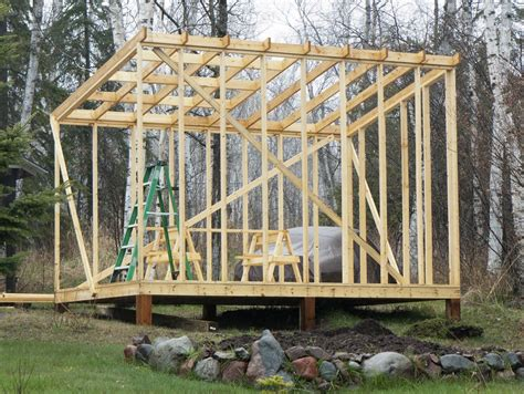 how to build a barn style roof building a shed roof woodworking pinterest cottage