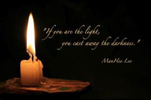 Quote About Light by Light Healing Leaf