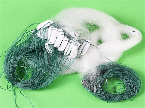 Float Line 25 M new arrival 25m clear white green monofilament fishing fish gill net with float in fishing net