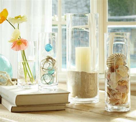 summer decoration ideas to make your own for your garden bocaux en verre et vases id 233 es de composition