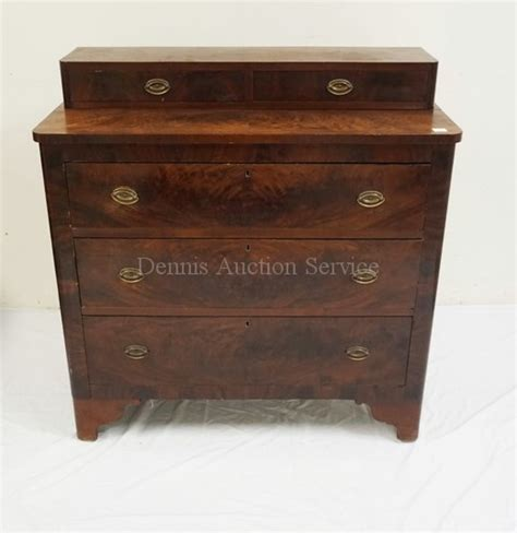 22 Inch Wide Chest Of Drawers Antique Empire Mahogany Chest Of Drawers 41 Inches Wide 42