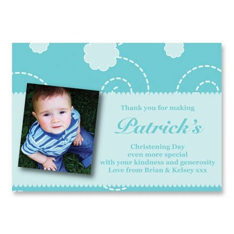 Thank You Cards For Christening Gifts - christening thank you card thank you cards babies kids