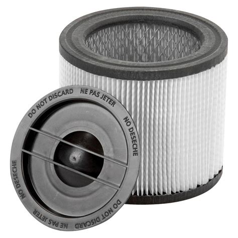 shop vac 174 shop vac vacuum filters 6 5 in x 8 in ultra