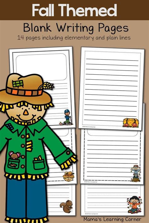 fall themed writing paper 9 best images about themed writing paper on