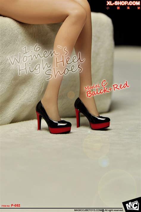 High Heels Shoes 520q Mc mc toys 1 6 p 052 model c s high heel shoes black