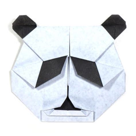 Easy Origami Panda - how to make a of origami panda page 1