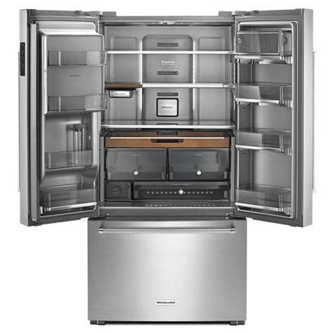 kitchenaid cabinet depth refrigerator krfc704fss kitchenaid 36 quot 23 8 cu ft counter depth
