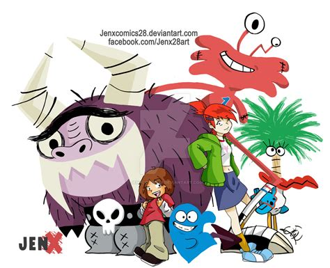 fosters home for imaginary friends by jenxcomics28 on