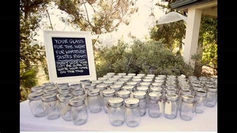 Simple diy wedding reception decor ideas   YouTube