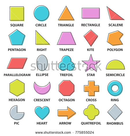 Anting Tusuk Inspired Shape Design set vector shapes design square stock vector 627905066