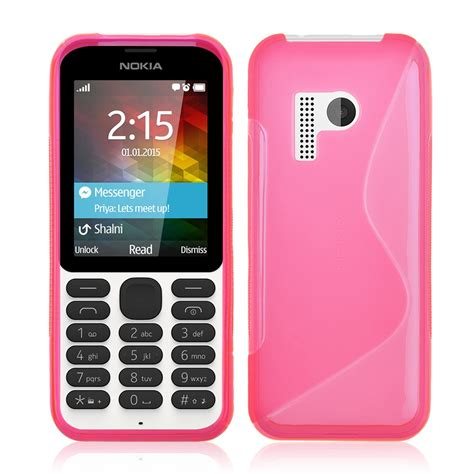 Silicon Nokia 215 S Line Soft Tpu Gel Rubber Silicone Cover Skin For