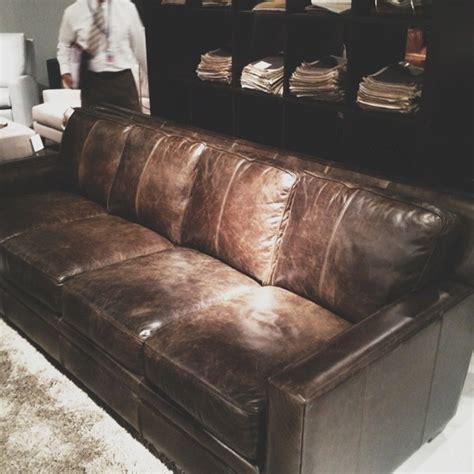 Leather Sofa Las Vegas Four Cushion Distressed Leather Sofa Las Vegas Market Summer 2012 Pinterest Distressed
