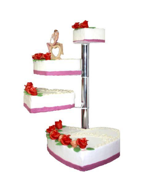 Hochzeitstorte 3 Stöckig Herz by Hochzeitstorte 4 St 246 Ckig Mit Sonnenblumen Und Roten