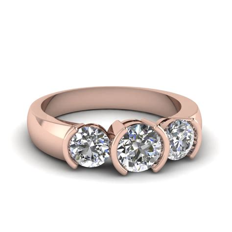 Three Ring by 3 Engagement Rings Fascinating Diamonds