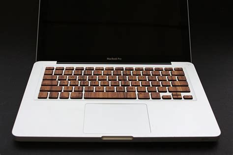 Keyboard Laptop Macbook give your macbook pro some personality with wood keyboard bit rebels