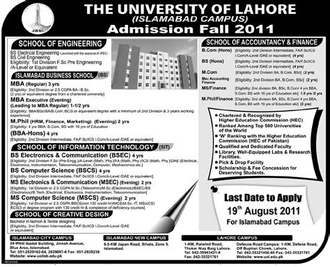 Mba In Lahore College by Uol