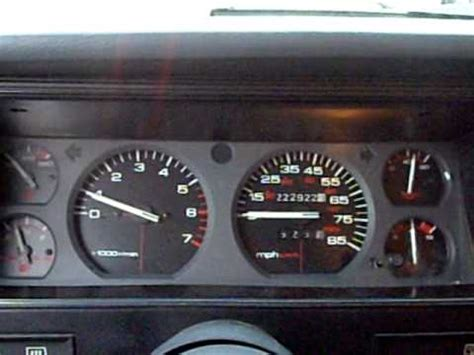 jeep cherokee xj dashboard 1993 jeep cherokee sport dash rev youtube