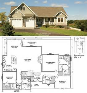 Ranch Floor Plans With Walkout Basement by Ranch Option With Walkout Basement Home Design