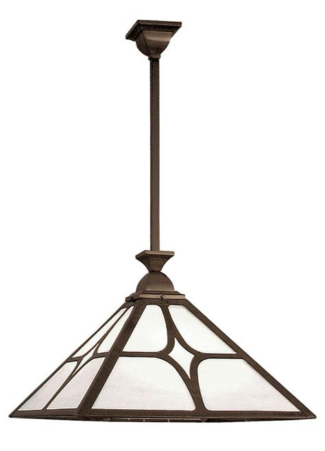 Mission Ceiling Light Vintage Hardware Lighting 22 Quot Wide Mission Rod Hung Ceiling Pendant Light With Shade