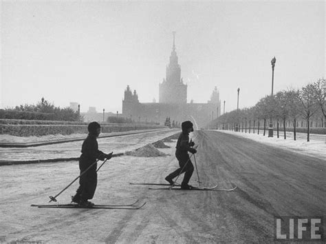 Old Photos: Winter In Moscow 1959 « Kansas City With The ...