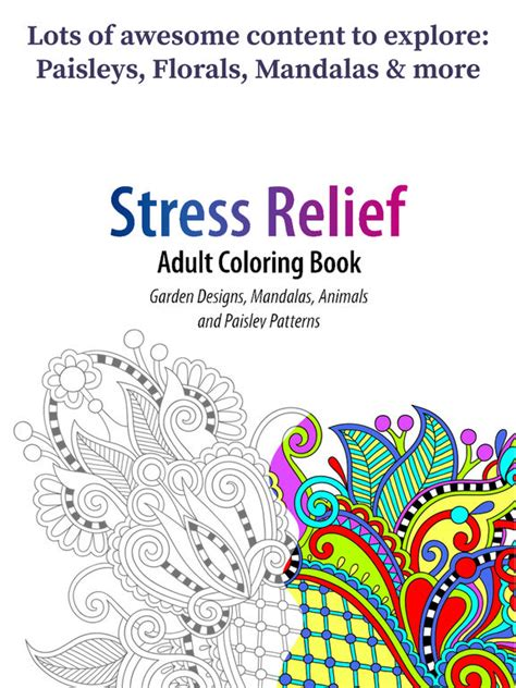 coloring books for adults app app shopper coloring book for adults paisleys edition