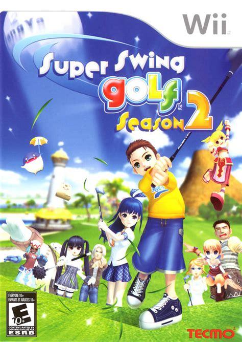 Super Swing Golf Season 2 Nintendo Wii Game