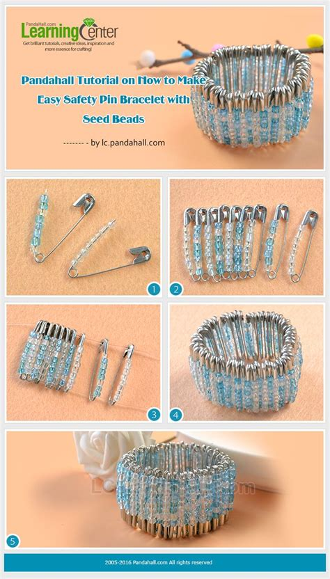 how to make beaded safety pins 17 best ideas about safety pin bracelet on