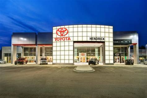 Hendrick Toyota Of Apex Hendrick Toyota Scion Of Apex Car Dealership In Apex Nc