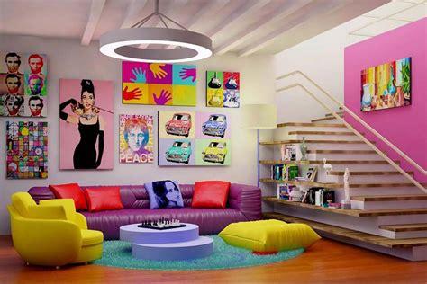 pop interior design arredare in la casa stile vintage arredamento vintage