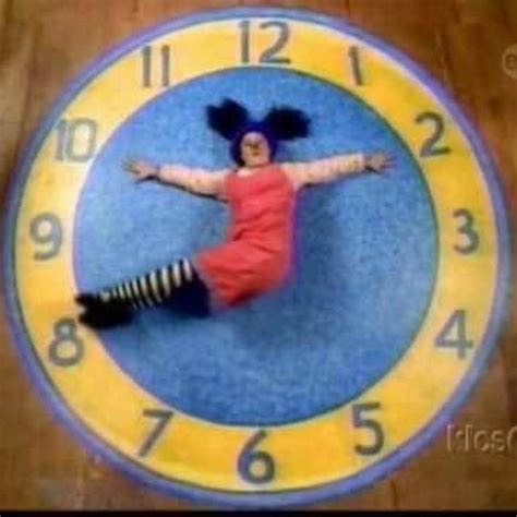 Clock Rug Big Comfy by The Big Comfy Used To This Every Morning On