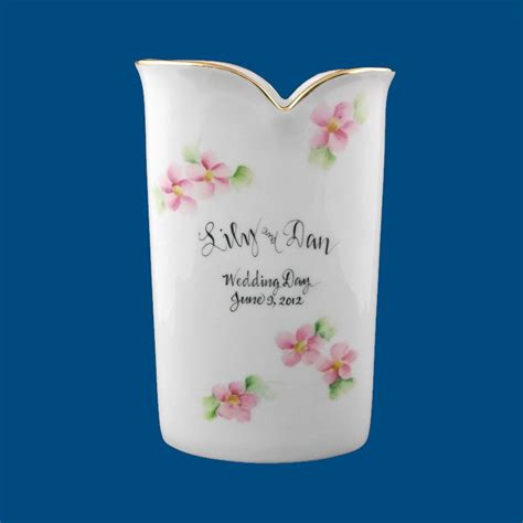 Wedding Gift Vase by Personalized Gifts Wedding Gifts Vase