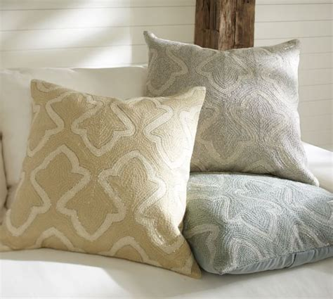 Pillow Covers Pottery Barn by Brielle Crewel Embroidered Pillow Cover Pottery Barn