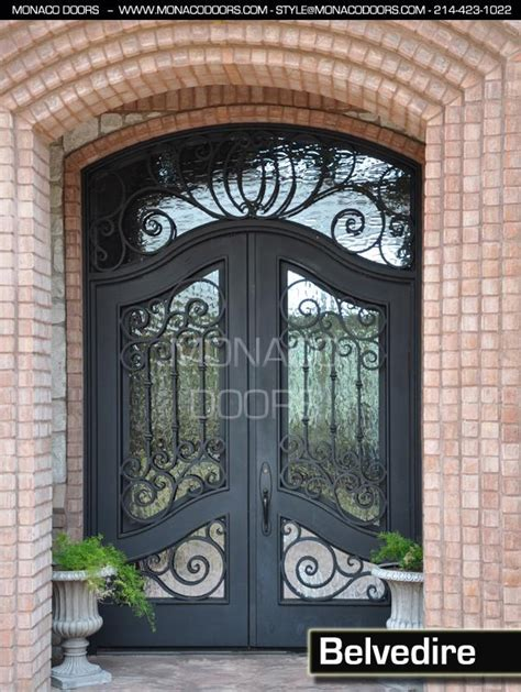 Wrought Iron Exterior Door Wrought Iron Entry Doors Monaco Doors