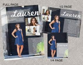 pics for gt yearbook senior page layout