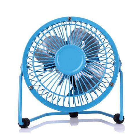 optimus 4 inch personal metal fan portable metal 4 inch small desk fan usb mini fans quiet