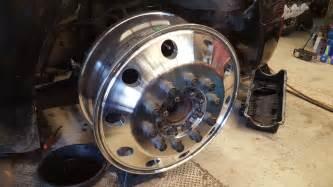 8 Lug Semi Truck Wheels Steel 22 5 24 5 Semi Wheel 8 To 10 Lug Adapters 99 04 Ford
