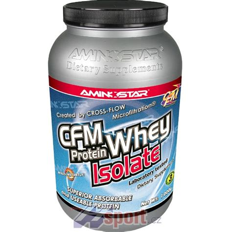 Whey Protein Isolate 90 aminostar cfm whey protein isolate 90 1000g hsport