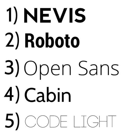 design font serif 5 awesome free sans serif fonts for designers san diego