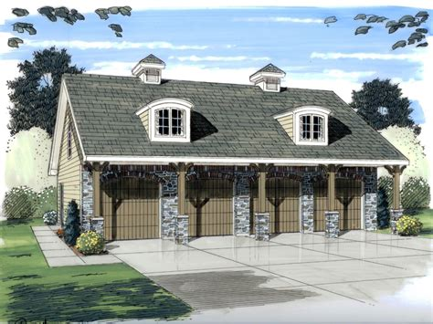 Barn With Apartment Plans garage plan 44058 at familyhomeplans com