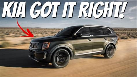 Kia Large Suv 2020 by Review 2020 Kia Telluride New Large Suv On The