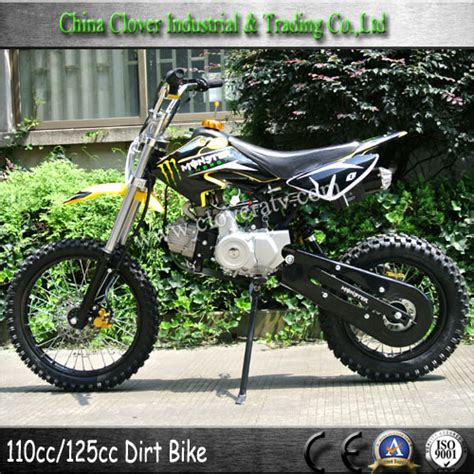 125cc motocross bikes for sale yellow cheap two wheel motorbike 125cc pit bike dirt bike
