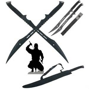 double ninja swords w sheath shut up and take my money